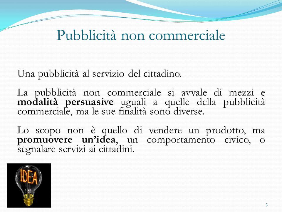 Pubblicità non commerciale