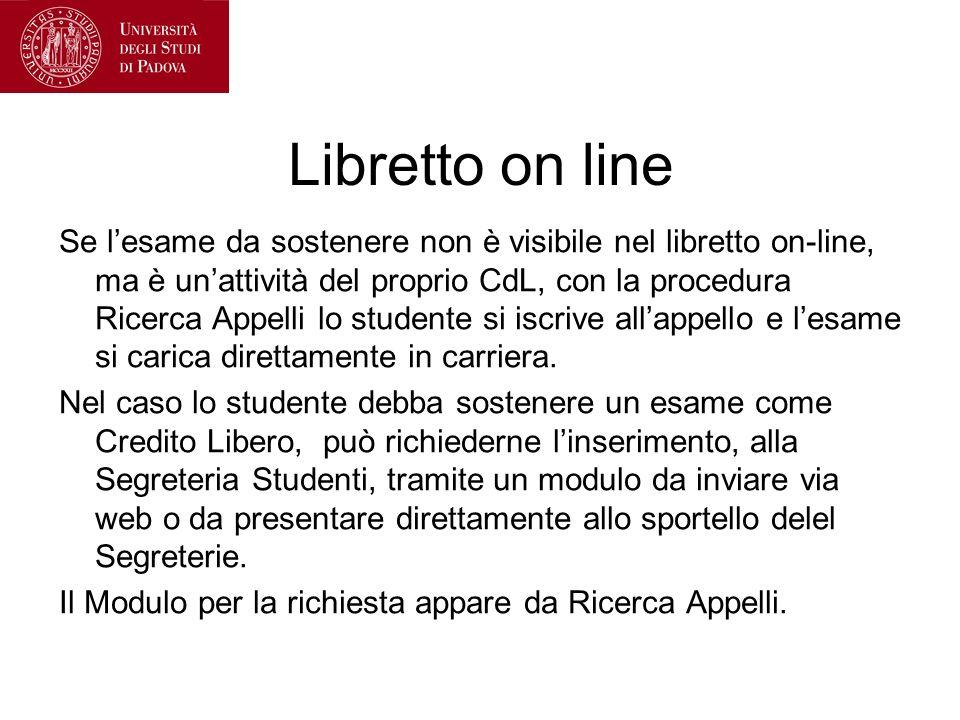 Libretto on line