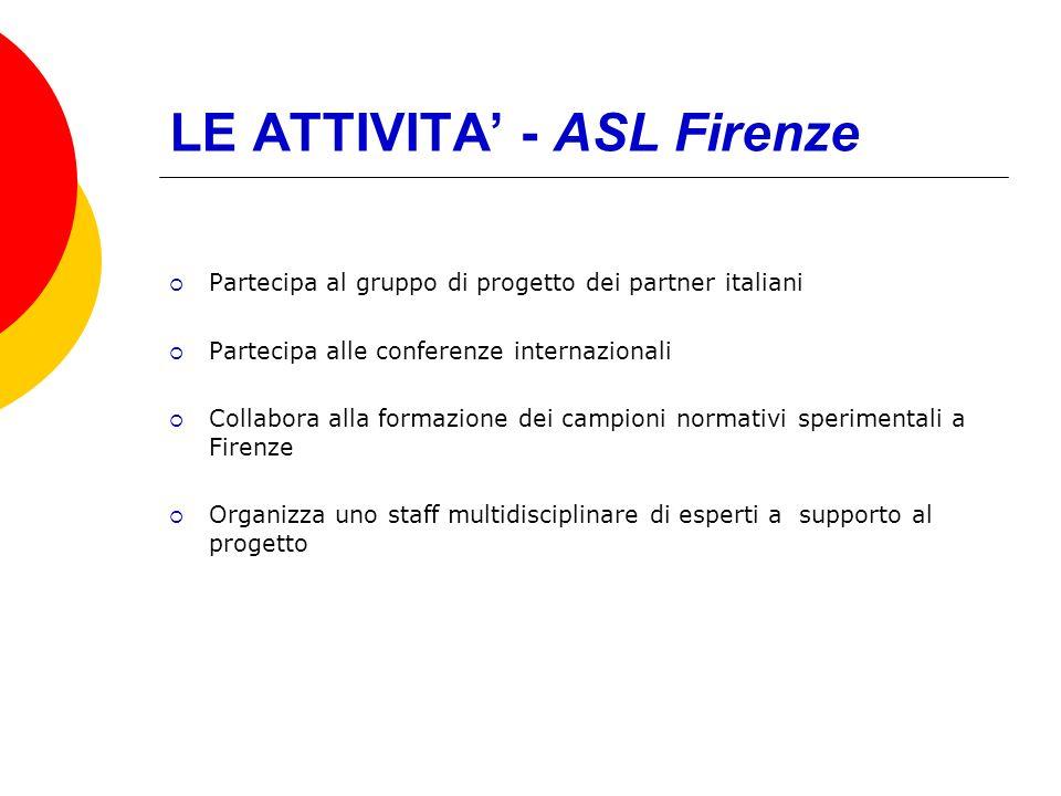 LE ATTIVITA' - ASL Firenze