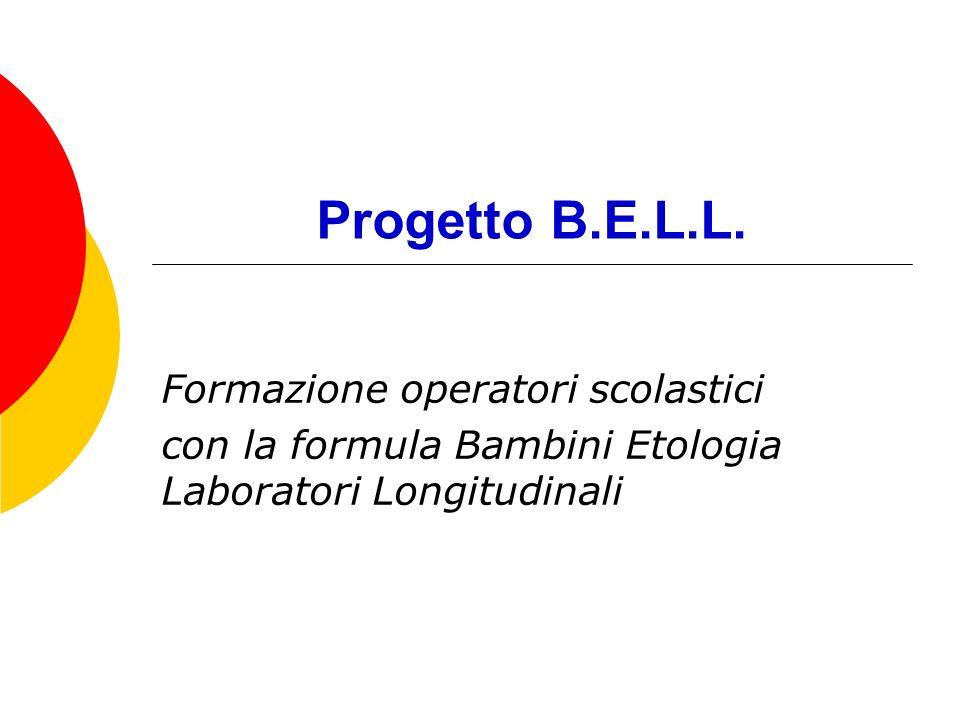 Progetto B.E.L.L. Formazione operatori scolastici