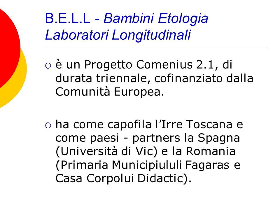 B.E.L.L - Bambini Etologia Laboratori Longitudinali