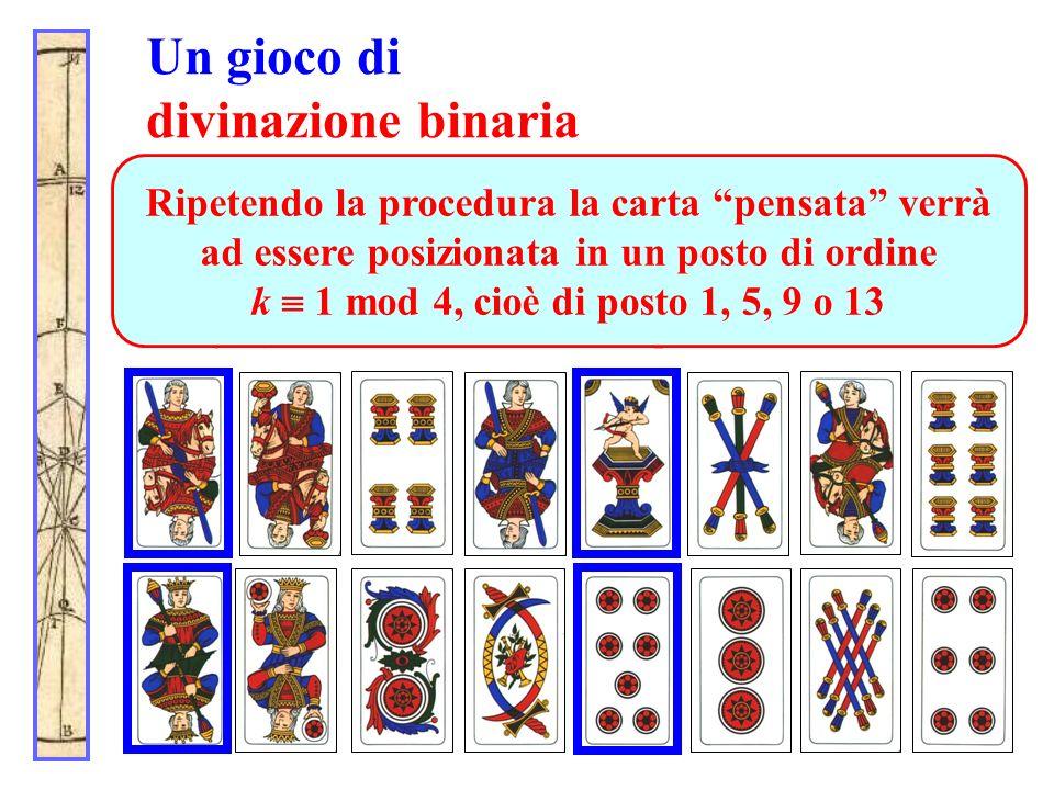 Un gioco di divinazione binaria