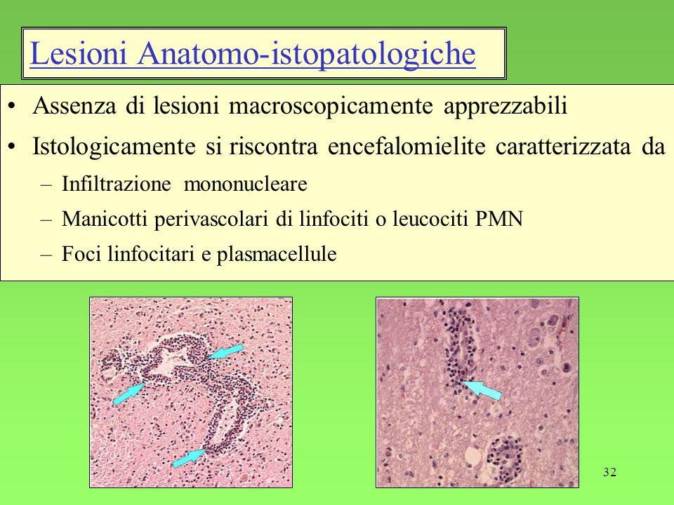Lesioni Anatomo-istopatologiche