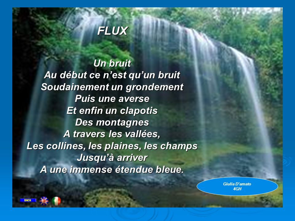 FLUX FLUX Un bruit Au début ce n'est qu'un bruit