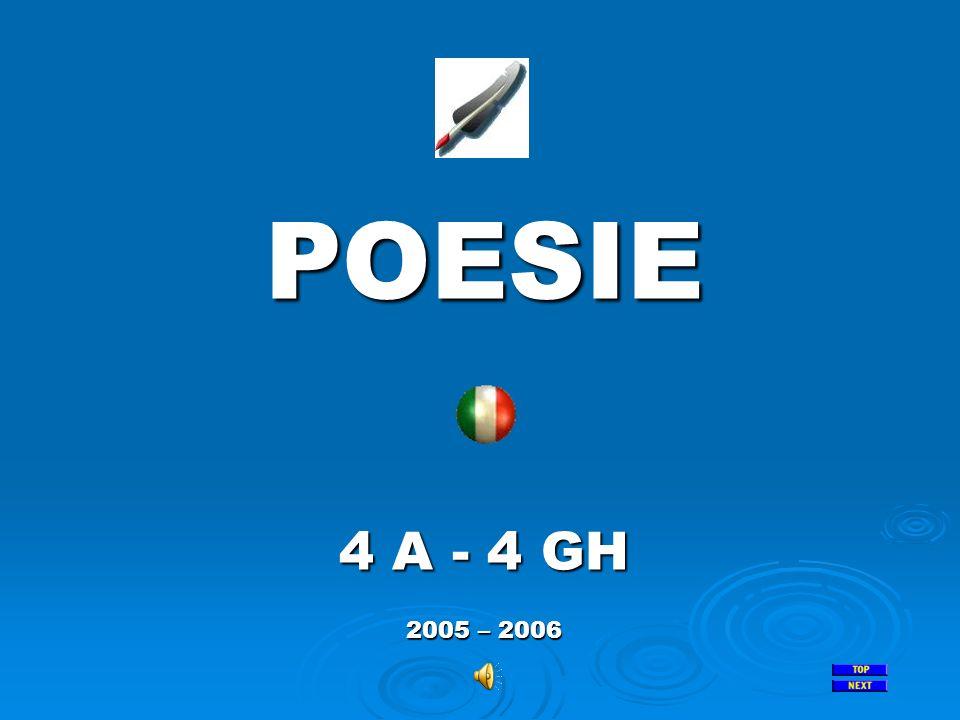 POESIE 4 A - 4 GH 2005 – 2006