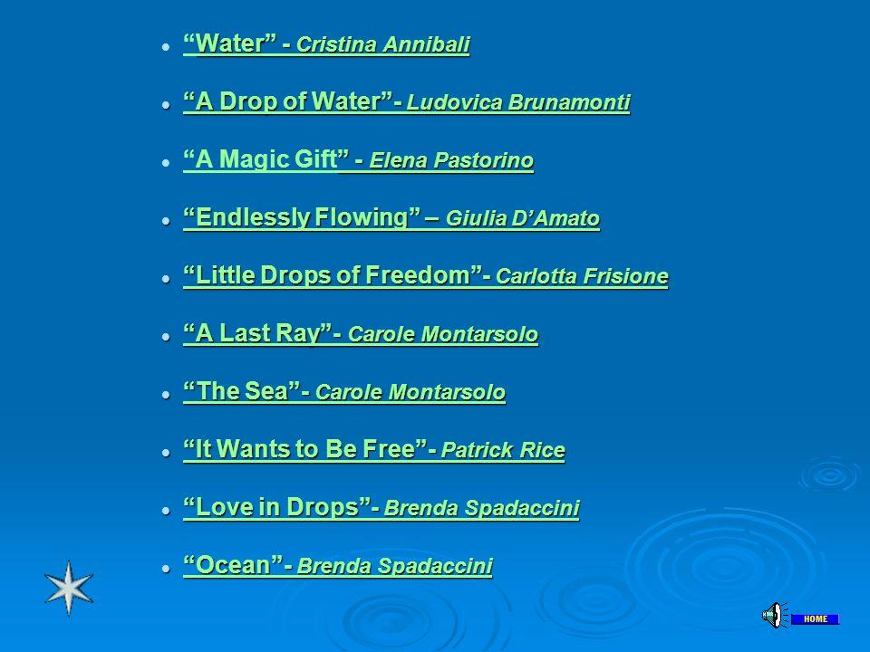Water - Cristina Annibali
