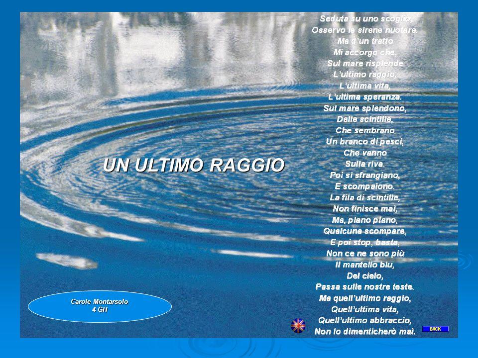 UN ULTIMO RAGGIO UN ULTIMO RAGGIO Carole Montarsolo 4 GH