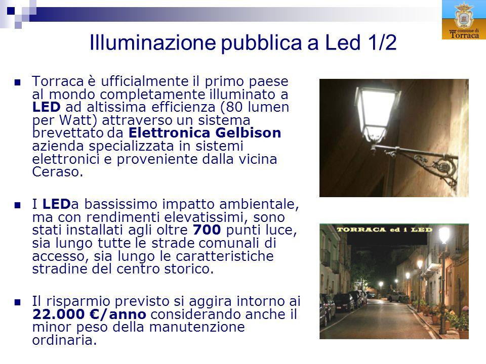 Illuminazione pubblica a Led 1/2