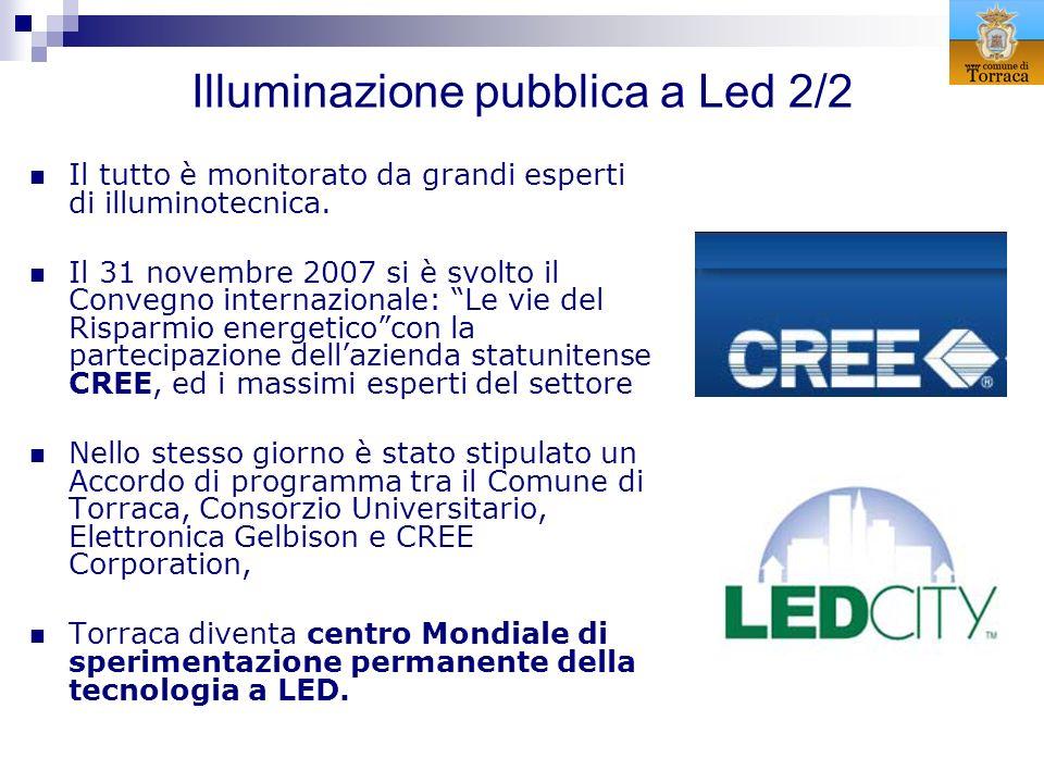 Illuminazione pubblica a Led 2/2