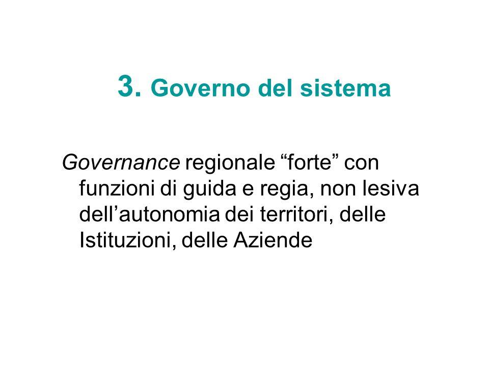 3. Governo del sistema