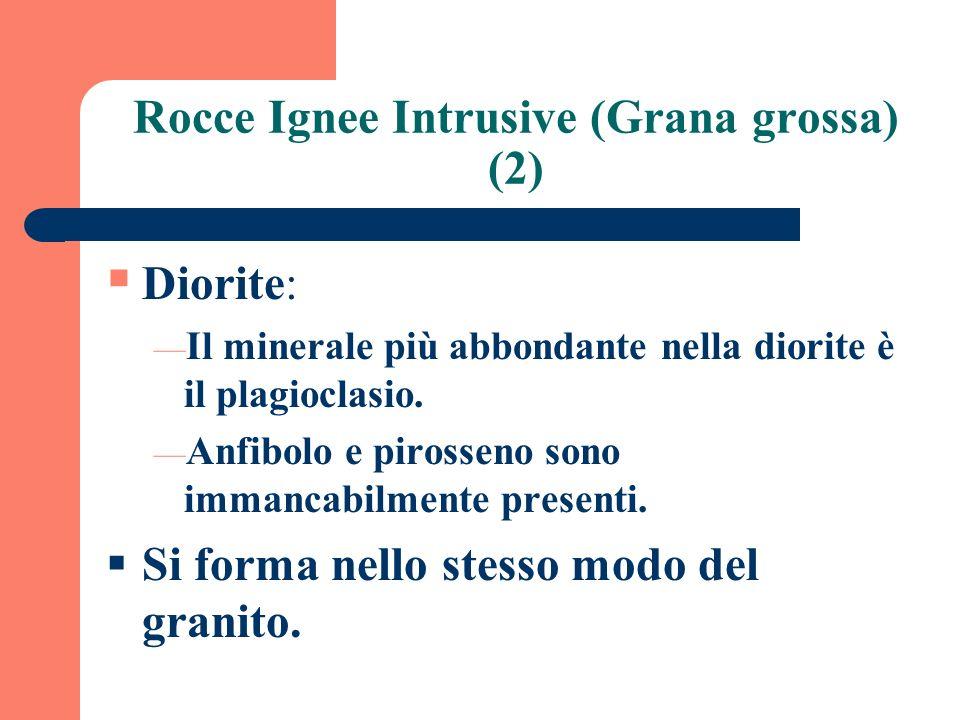 Rocce Ignee Intrusive (Grana grossa) (2)
