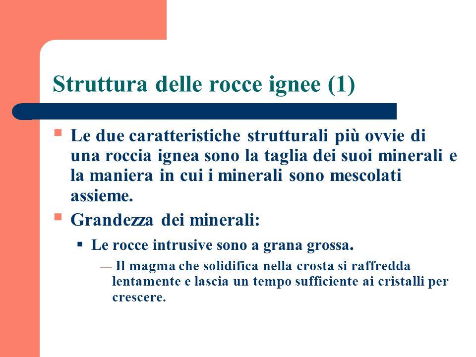Struttura delle rocce ignee (1)