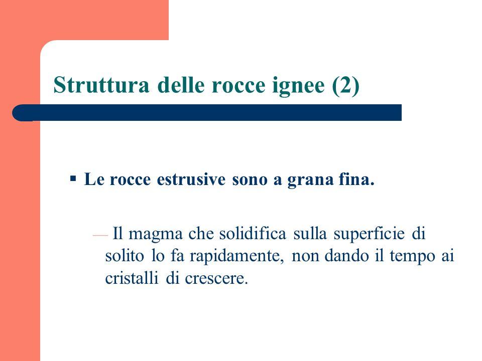 Struttura delle rocce ignee (2)