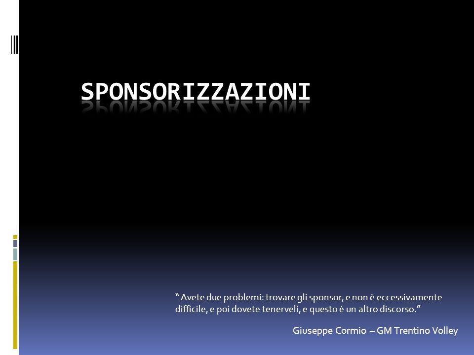 sponsorizzazioni Giuseppe Cormio – GM Trentino Volley