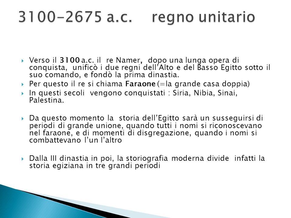 3100-2675 a.c. regno unitario