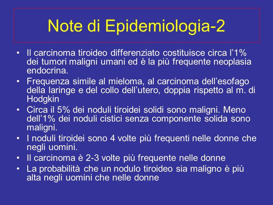 Note di Epidemiologia-2