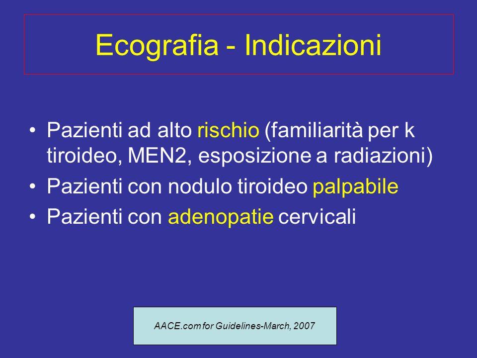 Ecografia - Indicazioni