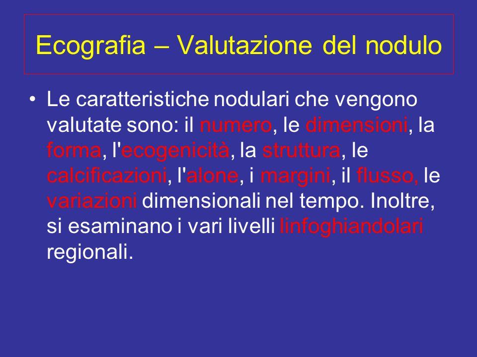 Ecografia – Valutazione del nodulo