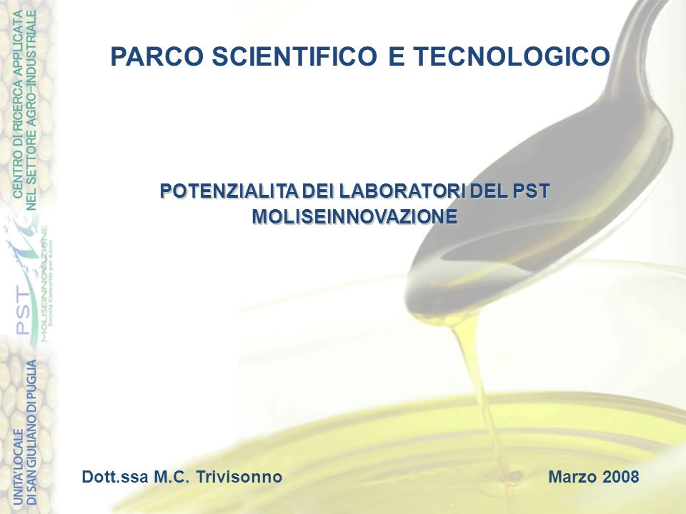 PARCO SCIENTIFICO E TECNOLOGICO