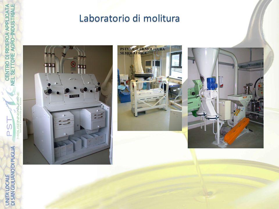 Laboratorio di molitura