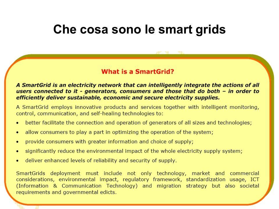 Che cosa sono le smart grids
