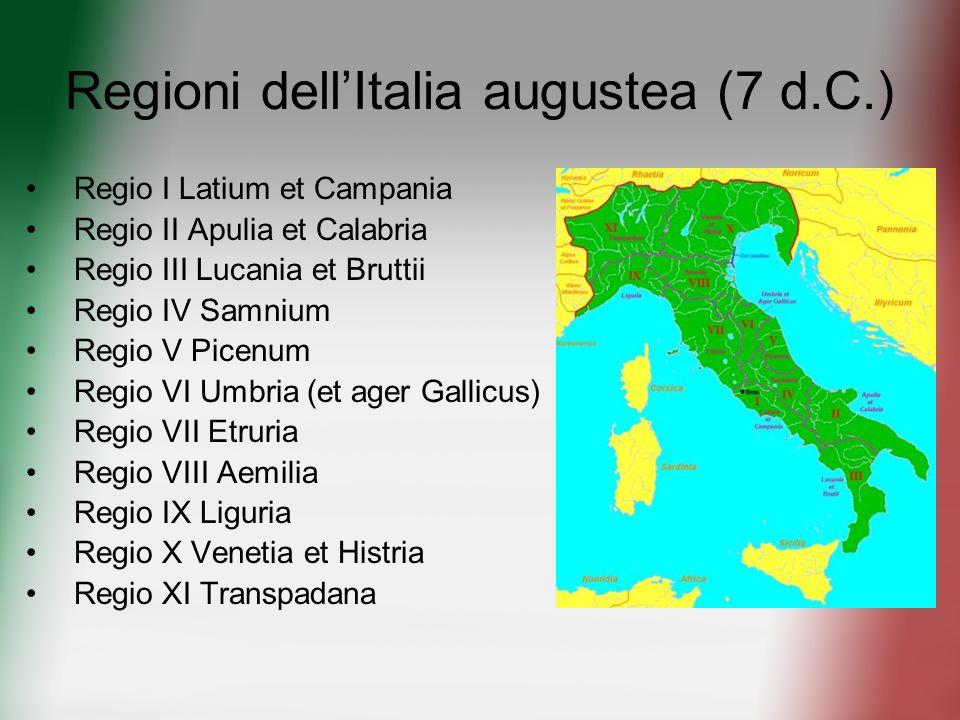 Regioni dell'Italia augustea (7 d.C.)