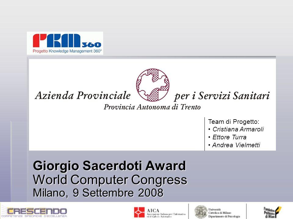 Team di Progetto:Cristiana Armaroli.Ettore Turra.
