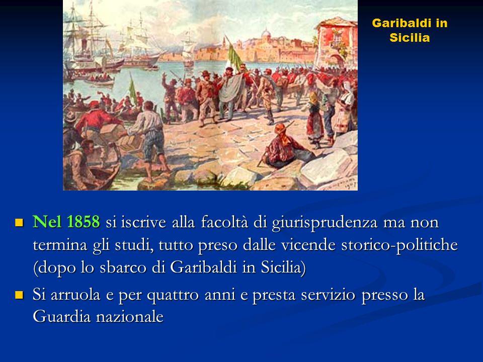 Garibaldi in Sicilia.