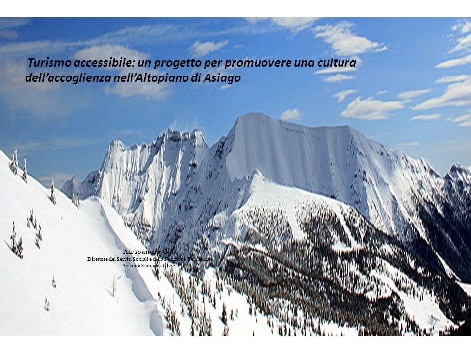 Turismo accessibile: un progetto per promuovere una cultura dell'accoglienza nell'Altopiano di Asiago