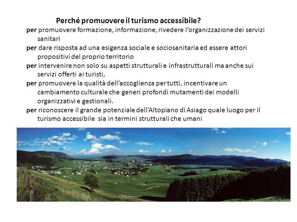 Perché promuovere il turismo accessibile
