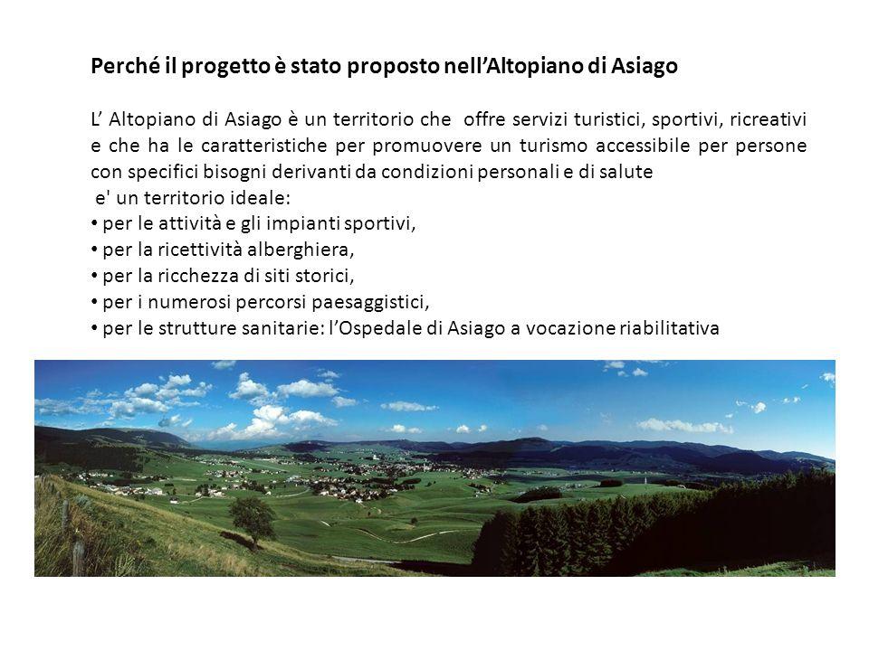 Perché il progetto è stato proposto nell'Altopiano di Asiago