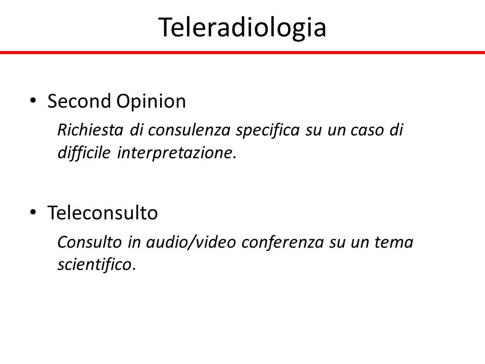 Teleradiologia Second Opinion Teleconsulto
