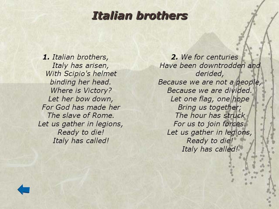 Italian brothers
