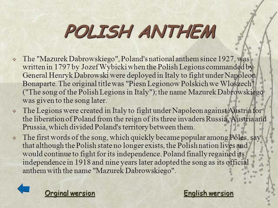 POLISH ANTHEM