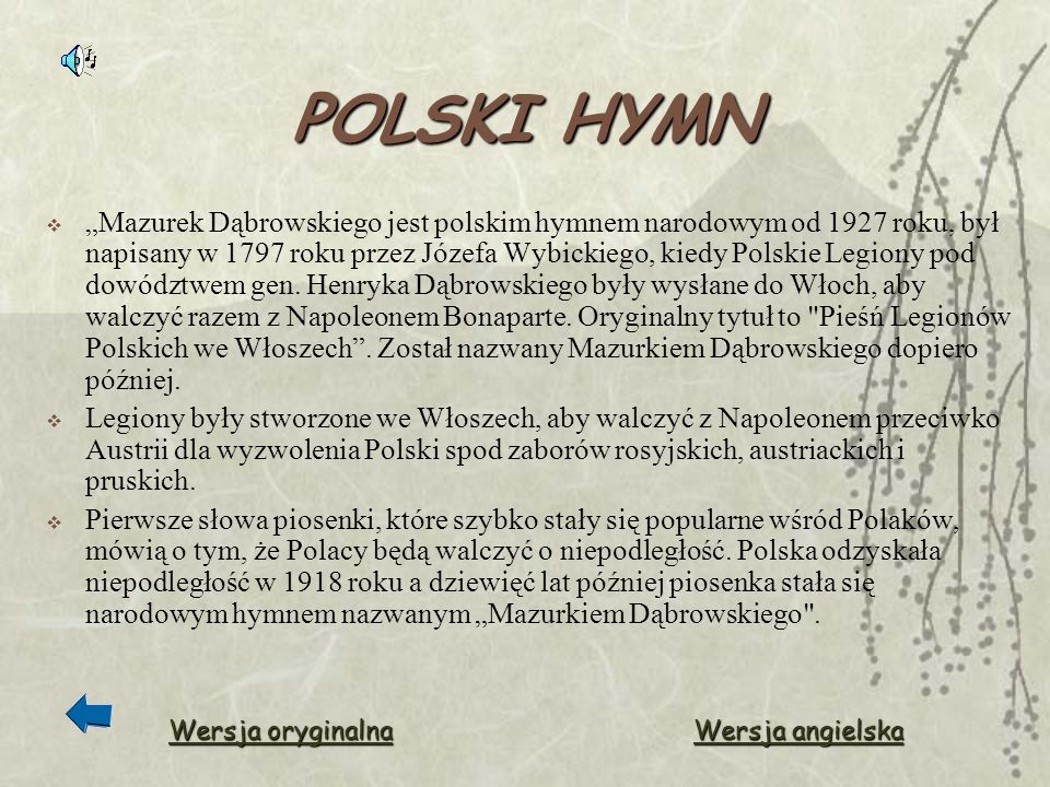 POLSKI HYMN