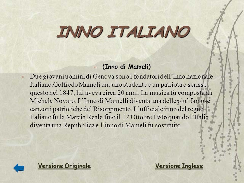 INNO ITALIANO (Inno di Mameli)