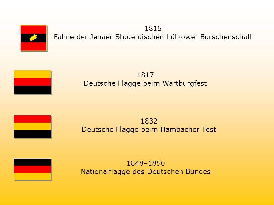 Fahne der Jenaer Studentischen Lützower Burschenschaft