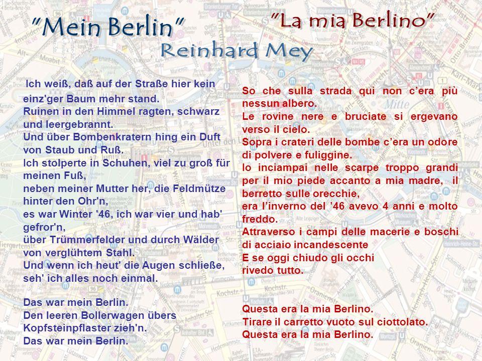 La mia Berlino Mein Berlin Reinhard Mey.