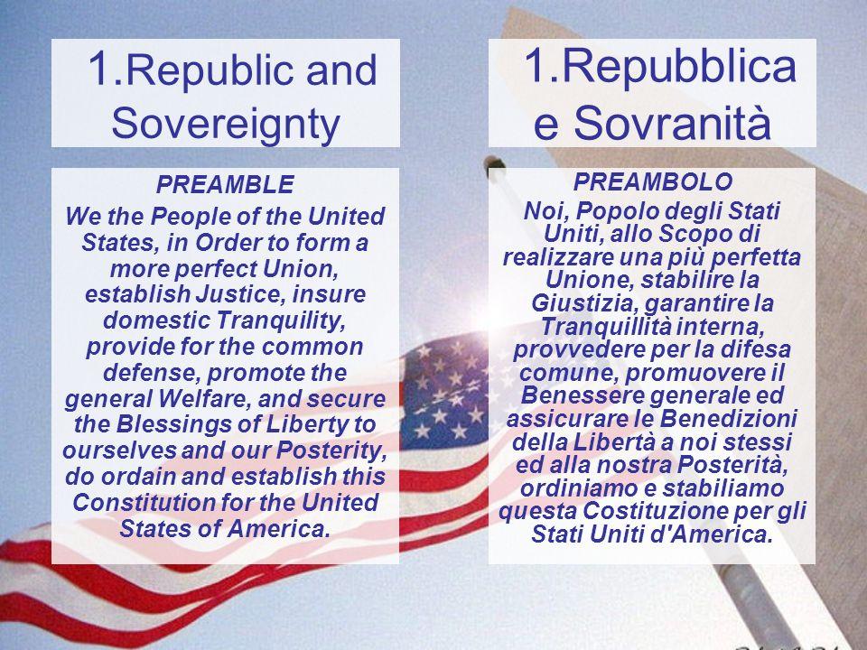 1.Repubblica e Sovranità