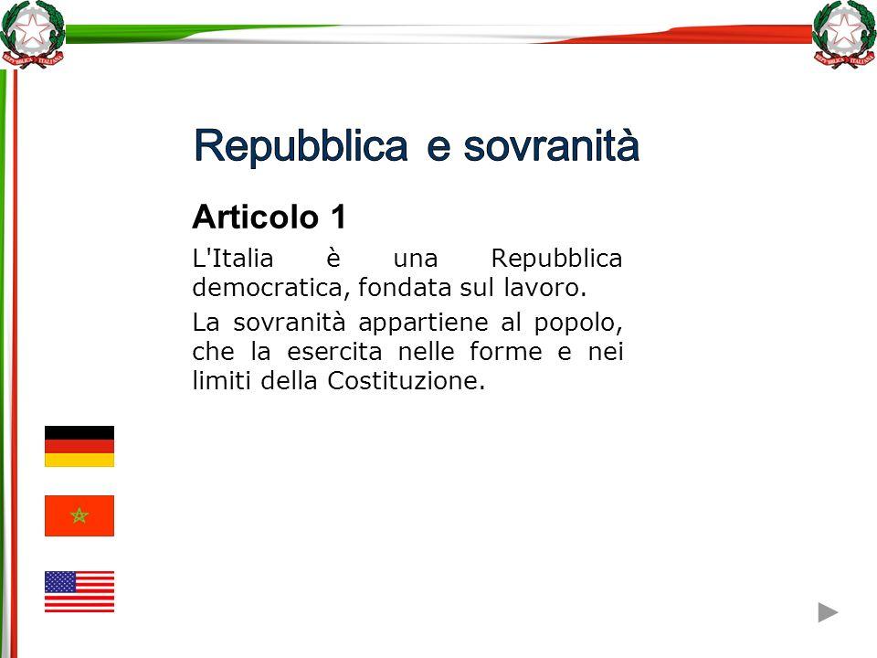 Repubblica e sovranità