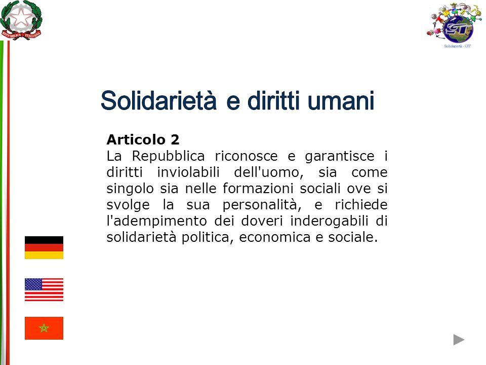 Solidarietà e diritti umani