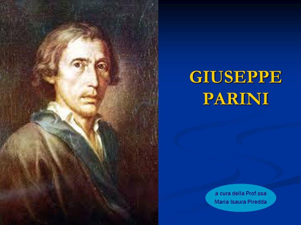 GIUSEPPE PARINI a cura della Prof.ssa Maria Isaura Piredda