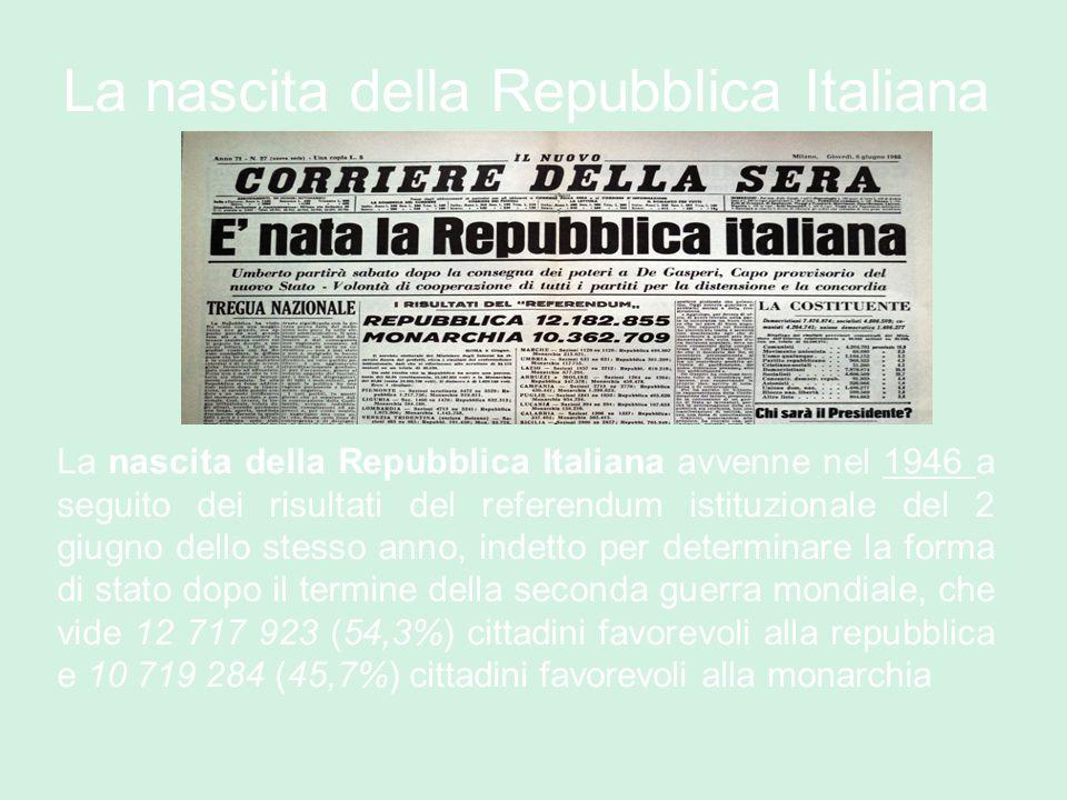 I t a l i a ppt video online scaricare for Repubblica italiana nascita