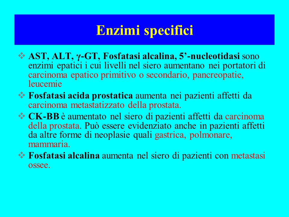 Enzimi specifici