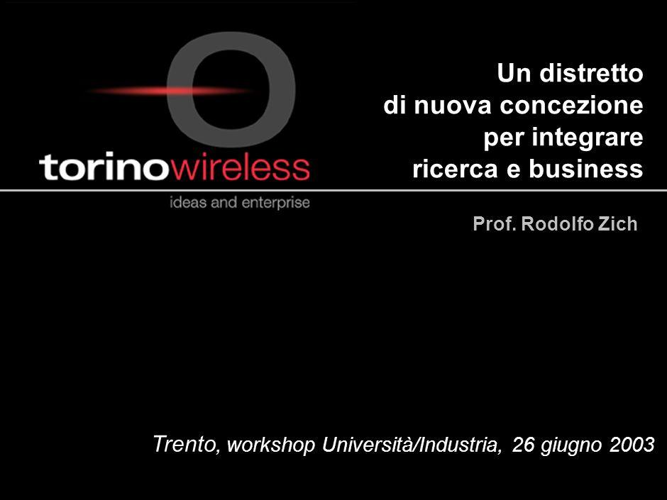 Un distretto di nuova concezione per integrare ricerca e business
