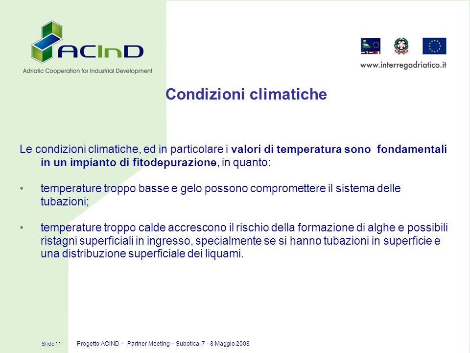 Condizioni climatiche