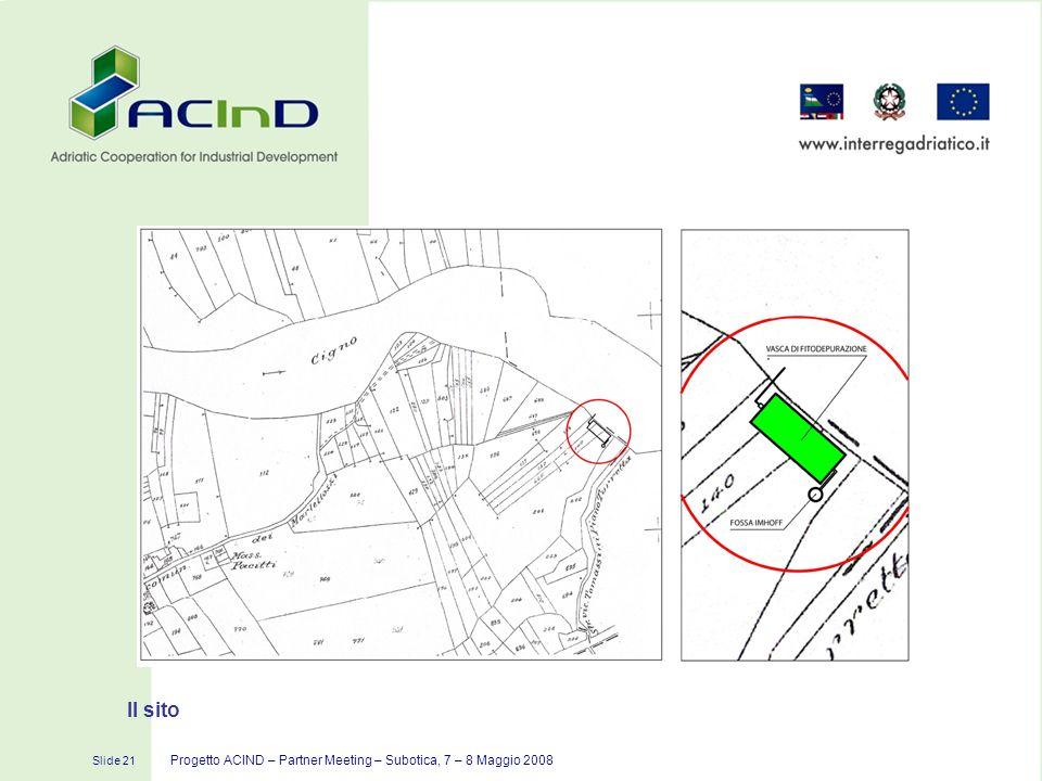 Il sito Progetto ACIND – Partner Meeting – Subotica, 7 – 8 Maggio 2008