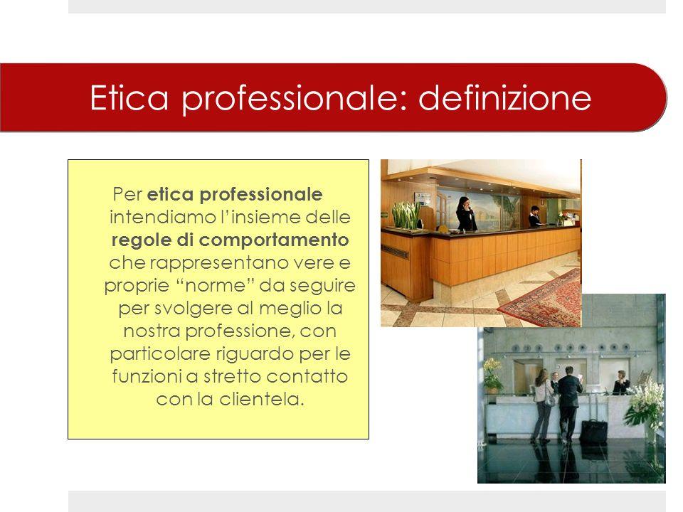 Etica professionale: definizione