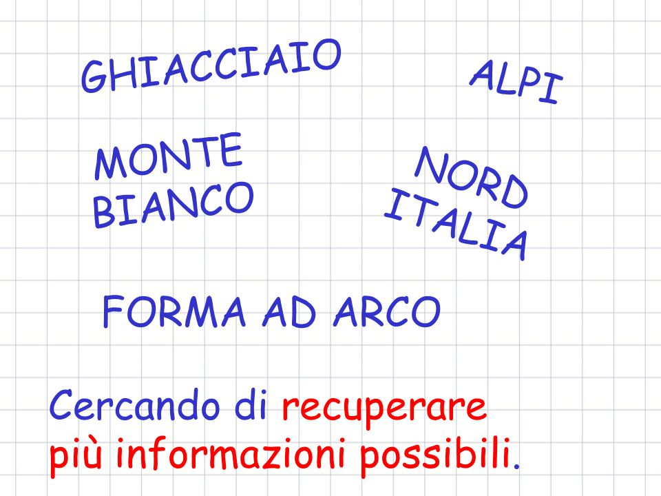 GHIACCIAIO ALPI. MONTE BIANCO. NORD ITALIA. FORMA AD ARCO.