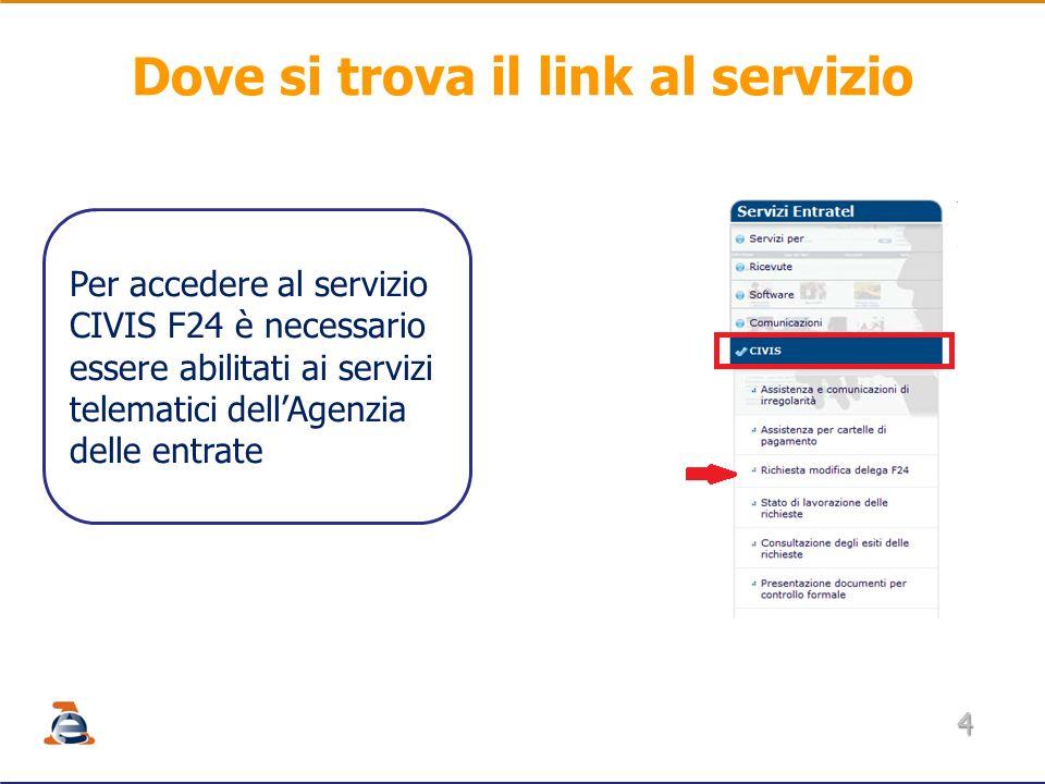 Civis f24 richiesta modifica delega f24 ppt scaricare for Dove si paga f24